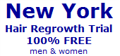 new york hair regrowth trial
